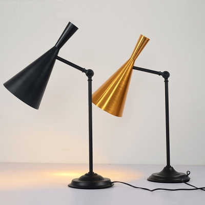 27.5u201dHigh Cone Shaded Designer Table Lamps Great for Restaurant