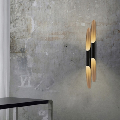 Long Pipe Shaped Designer Wall Lights - Pack of 2, Bold Design 3.9