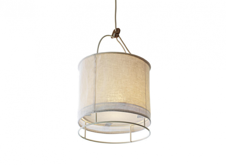 10 Easy Pieces: Fabric Pendant Lamps - Remodelista