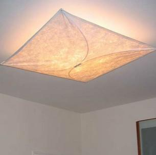Fabric ceiling lights – basic lighting in its coziest form