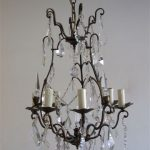Florentine chandelier – light source and artwork in one