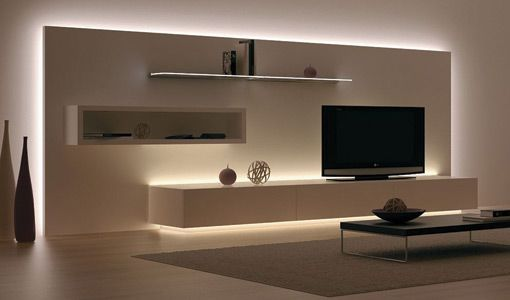 Resultado de imagem para led furniture lights | Home Theater