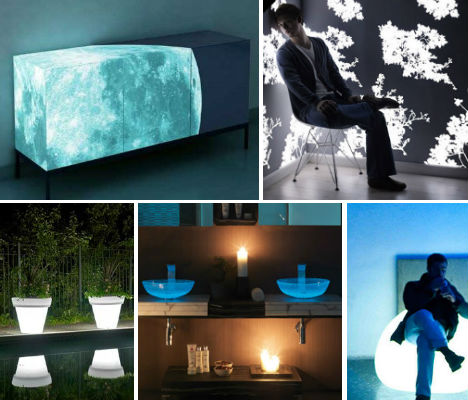 Glow-in-the-Dark Home Furniture Lights Up Nights | Urbanist