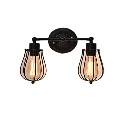 3 Light Glass Wall Sconce Light Lamp with Shade Cover Only by