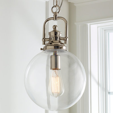 Glass Pendant Lights | Clear & Blown Glass Pendants - Shades of Light