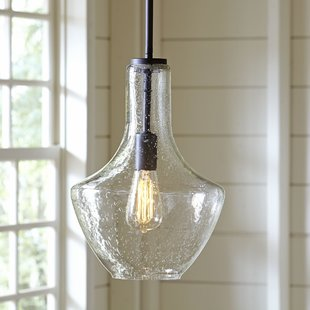 Colored Glass Pendant Lights | Wayfair