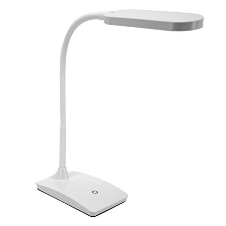 TW Lighting IVY-40WT The IVY LED Desk Lamp with USB Port, 3-Way