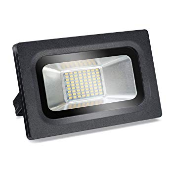 15W LED Flood Light - Outdoor Lighting Wall Light, 1200lm, Warm