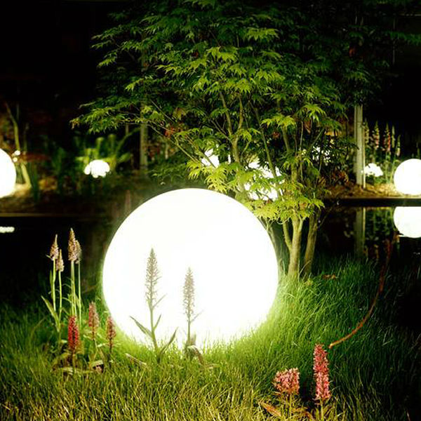 LED outdoor lights for garden and yard