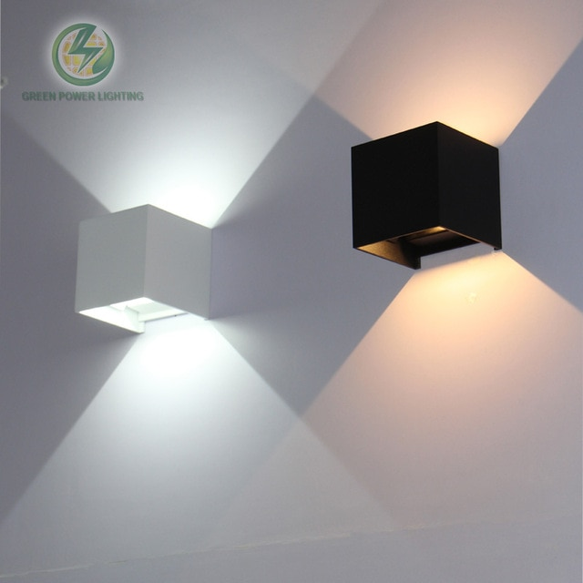 IP65 cube adjustable surface mounted outdoor led lighting,led