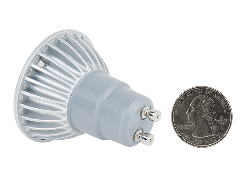 GU10 LED Bulb - 40 Watt Equivalent - 120V AC - Bi-Pin LED Spotlight