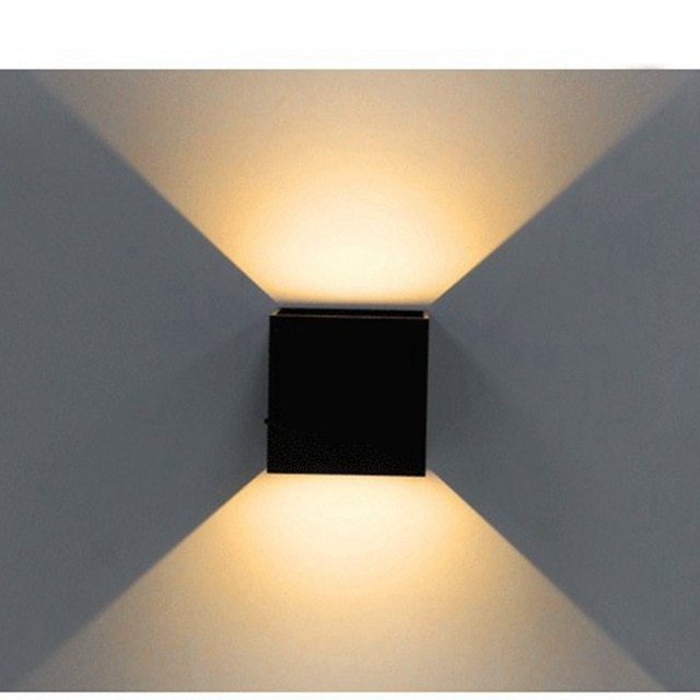 That is why LED wall lights give the lighting the right spice