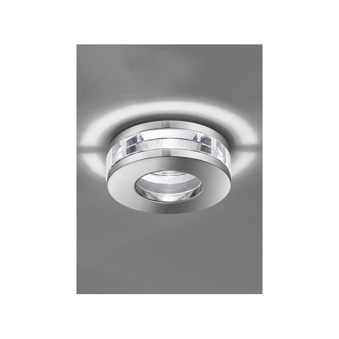 Franklite Low Voltage Recessed Crystal Bathroom Downlight