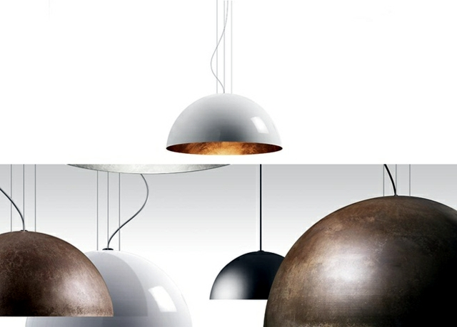 Metal lamps are fashionable u2013 5 modern designs hanging lamps