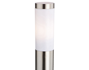 Stainless Steel Outdoor Pedestal Lights from Easy Lighting