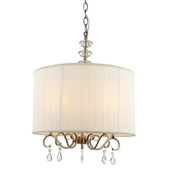Modern Best Selling Industrial Lighting Fabric Shade Pendant Lamp