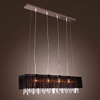 LightInTheBoxStylish Pendant Light with Black Fabric Shade Modern