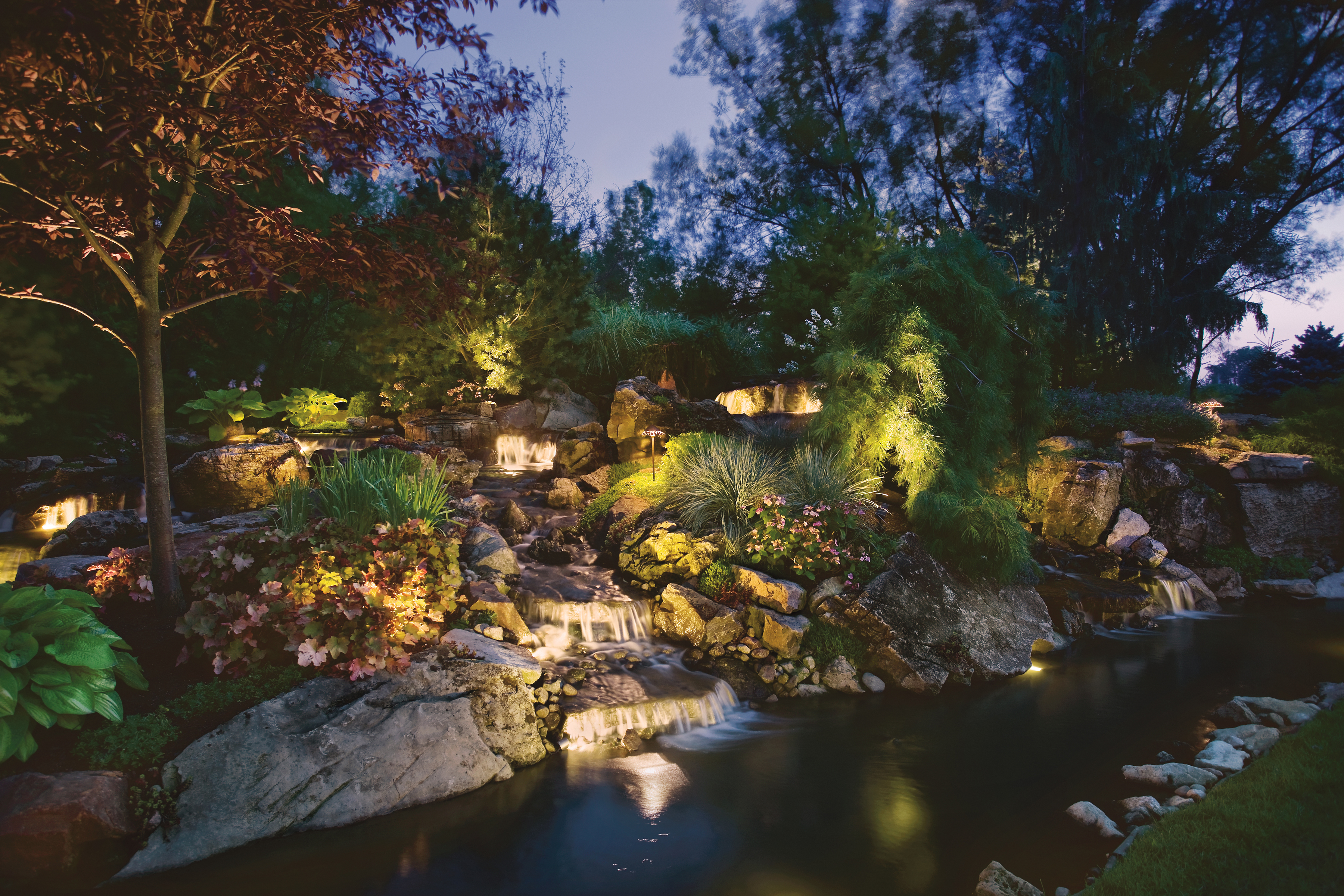 Landscape & Outdoor Water Lights from Kichler Lighting
