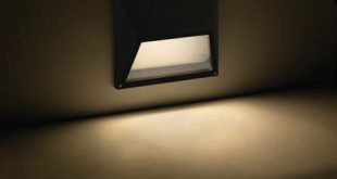 Recessed wall light fixture / LED / rectangular / outdoor - ECO