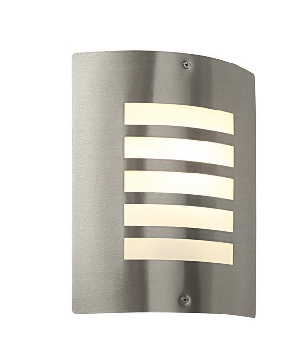 Saxby ST031F Bianco Wall LIght IP44 www.thebulbco.com | LED Wall