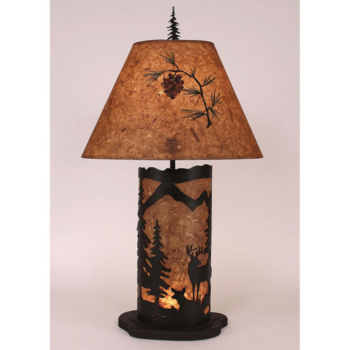 Coast Lamp Manufacturing Rustic Living Kodiak And Wood Chip Stain