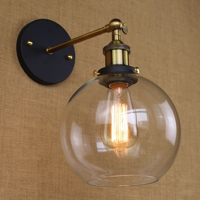 Wall lamps modern country style