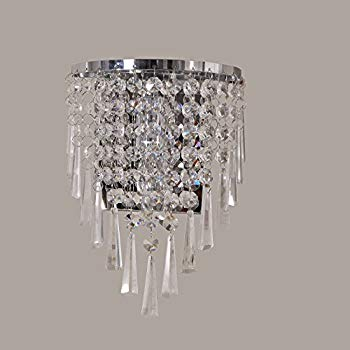 Wall lights with crystal