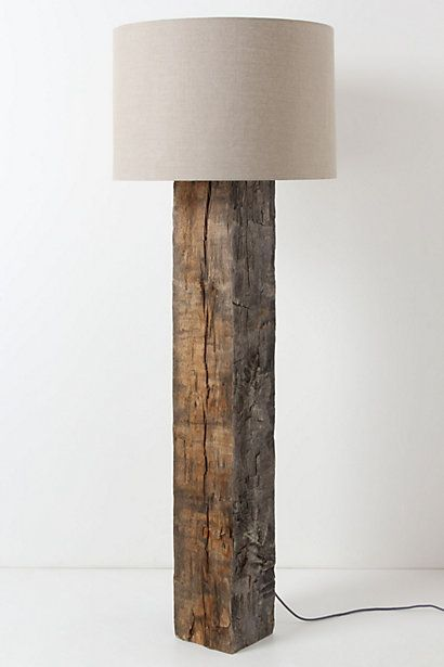 floor lamp.for reclaimed wood lovers like me ;) | for the home in