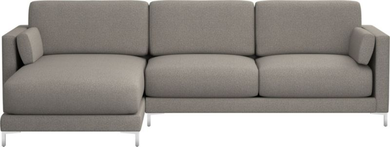 TAP TO ZOOM district 2-piece sectional sofa (left arm chaise, right arm sofa)  shown