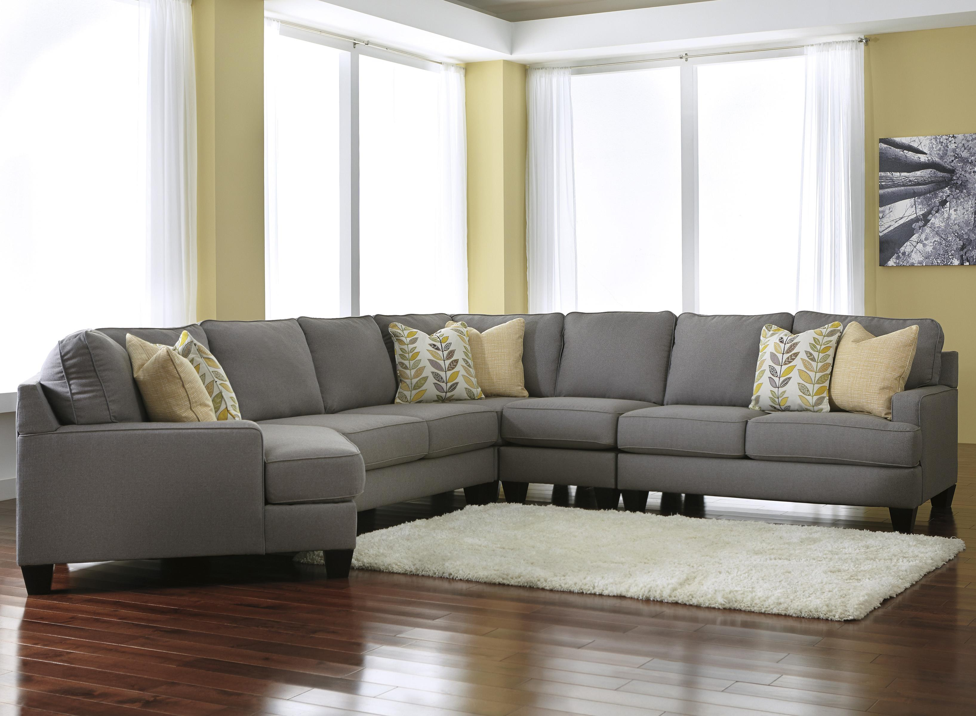 5-Piece Sectional Sofa with Left Cuddler