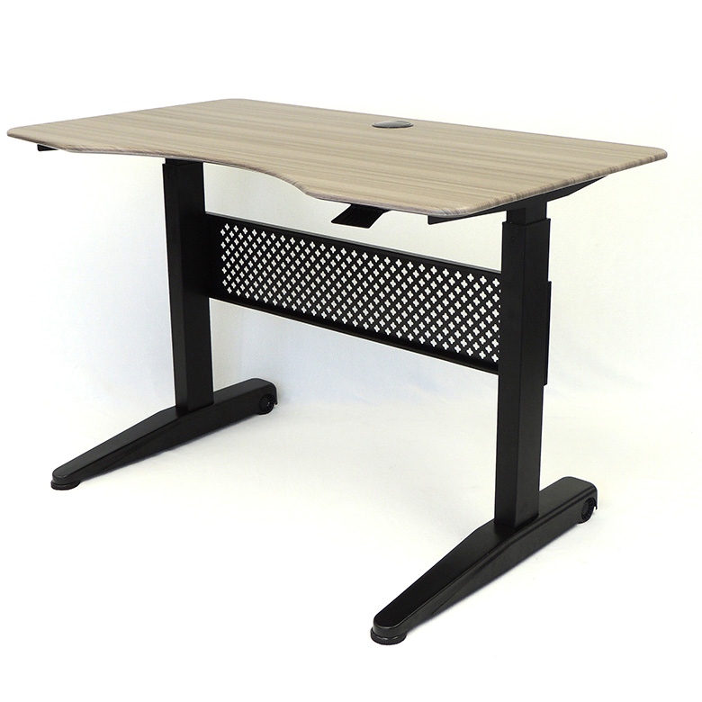 Boss Height Adjustable Desk 48″ x 25.5″, Driftwood