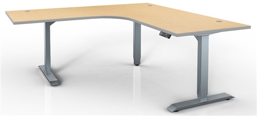 HAT HI-Series 3-Stage Electric Height-Adjustable Desk