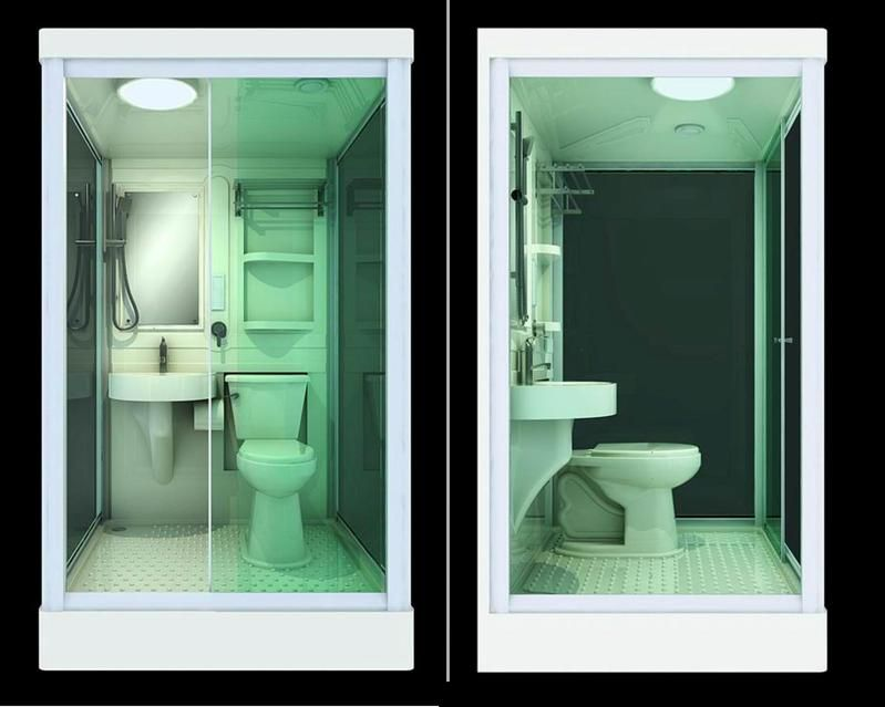 all in one shower toilet and sink - Google Search