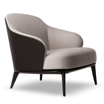 Minotti Leslie Armchair - Style # LESP78xx, Modern Armchair - Contemporary  Armchair - Leather Armchair - Swivel Armchair | Traveller Location