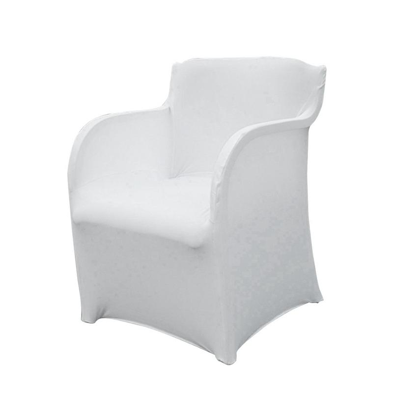 Armchair Slipcover Stretch Arm Chair Covers Wedding Chair Covers Elastic  Spandex Slipcovers For Armchairs Housse De Chaise 73*55CM JC0280 Small Chair
