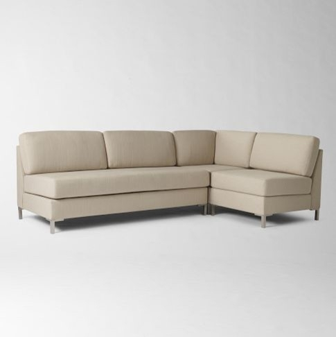 Ideal 2018 Popular Armless Sectional Sofas