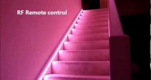 Automatic Stair LED lighting - how to do - YouTube