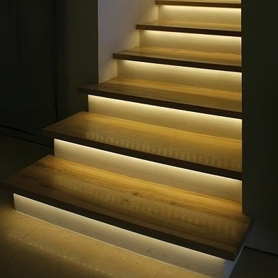 Automatic Stair Lighting, Automatic Light Stairs, Illumination Of