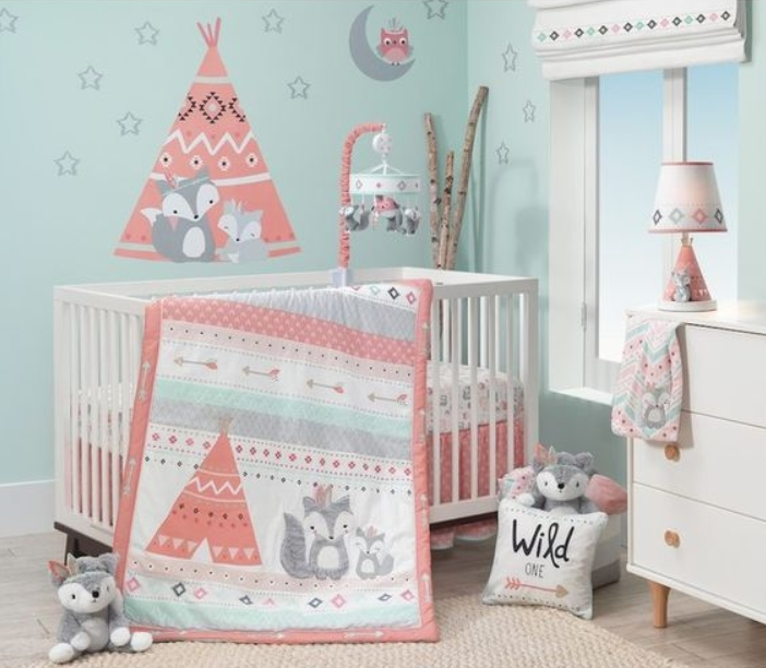Blue Baby Girl Nursery Ideas
