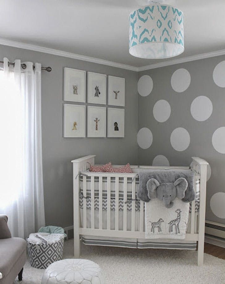 8 Gender-Neutral Nursery Decor Trends for Any Boy or Girl via @PureWow  Nursery