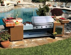 Amazing Backyard Grills Cooking With Charcoal, Grills, Future House,  Outdoor Spaces, Outdoors