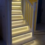 Basement Stair Lighting Ideas Fixtures