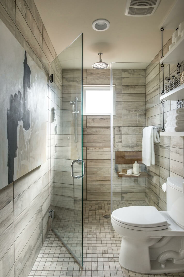 30. Space-Expanding Horizontal Tiles in Neutral Tones