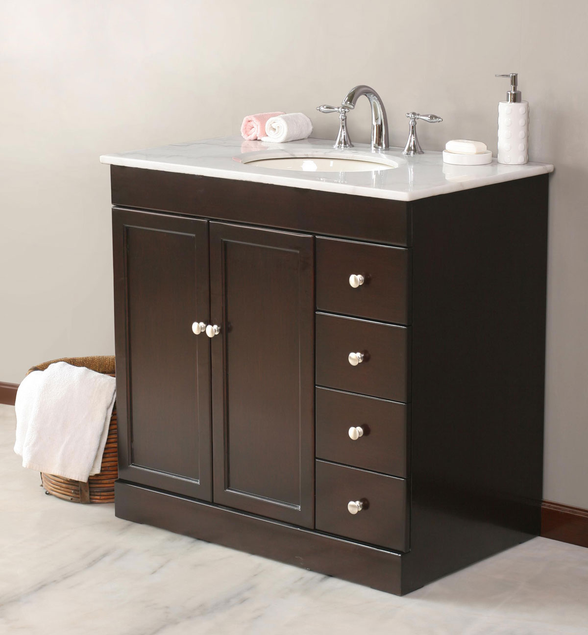 Bathroom Vanity With Top Included