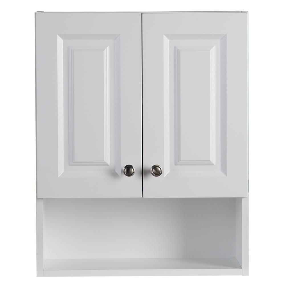 This review is from:Lancaster 21 in. W x 26 in. H x 8 in. D Over the Toilet  Storage Wall Cabinet in White