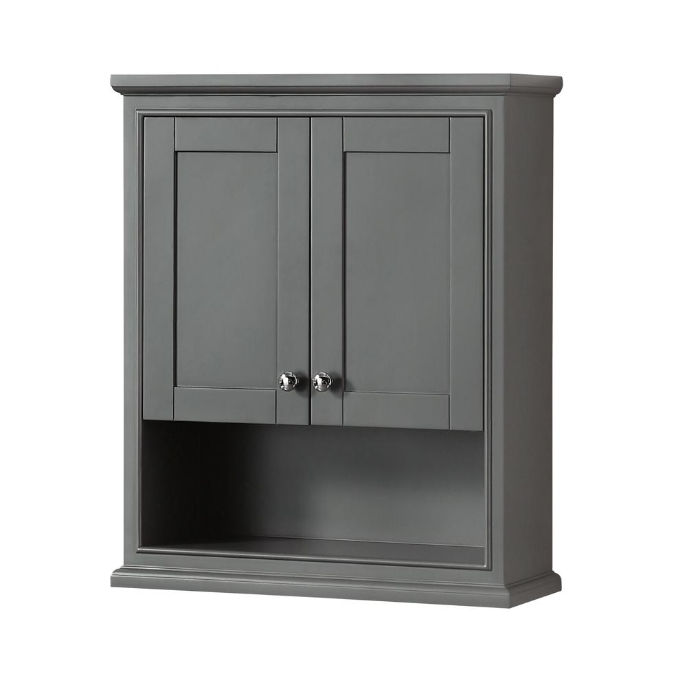 Wyndham Collection Deborah 25 in. W x 30 in. H x 9 in.