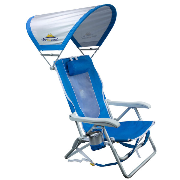 GCI OUTDOOR SunShade™ Backpack Beach Chair | West Marine