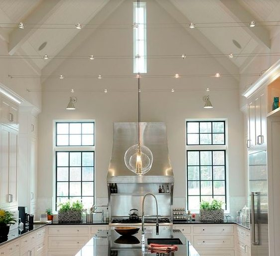 Ideas Kitchen Lighting Fixtures with Modern, Simple, and Beautiful