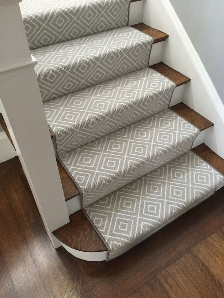 274 Best Carpet Runner Ideas For Stairway To Basement Images On With Regard  Stairs Decor 9