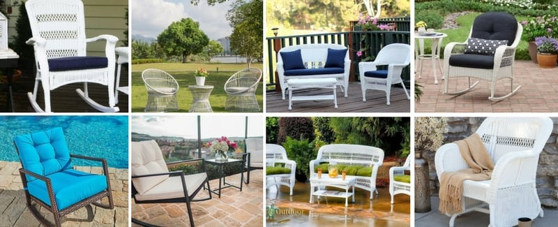 Best White Wicker Furniture - Beachfront Decor